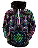 Product review for Chiclook Cool Chic Cool Unisex Hipster Kongfu Monkey 3D Printed Space Hoodie Sweatshirt Coat Pullover Hoody