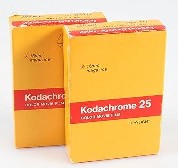 KODAK KODACHROME 25 Daylight Color 16MM Movie Film Sealed