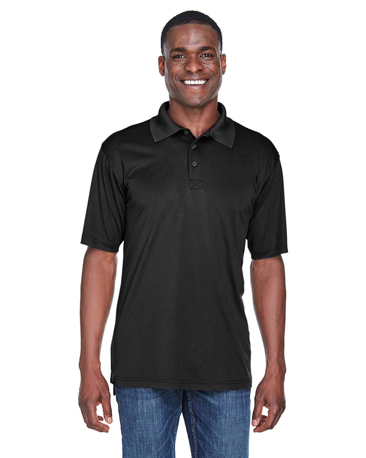 A Product of UltraClub Mens Cool /& Dry Sport Performance/ Interlock Polo Bulk