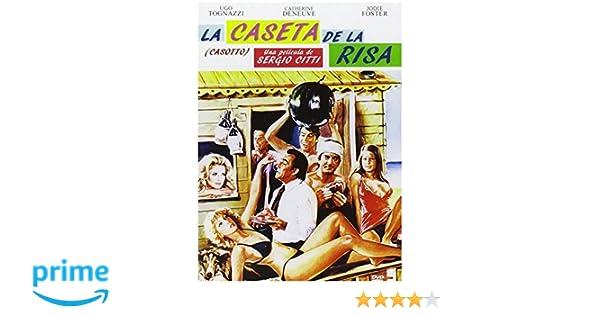 La caseta de la risa [DVD]: Amazon.es: Ugo Tognazzi, Catherine Deneuve, Jodie Foster, Ninetto Davoli, Sergio Citti: Cine y Series TV