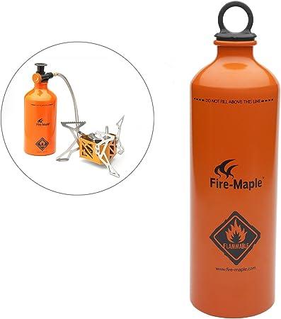 Fire-Maple FMS-B750 botella de combustible gasolina para horno hornillo estufa de aluminio 750ML