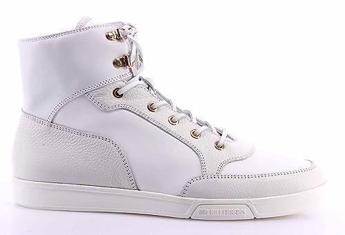 42d440c83d Scarpe Uomo Sneakers DIRK BIKKEMBERGS Olimpian Pelle Bianche Made In ...