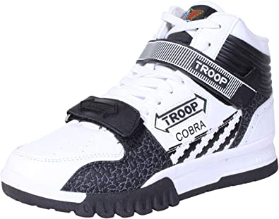 TROOP Men's Cobra Mid Fashion Sneakers