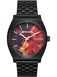 Nixon Mens Time Teller Metallica Collection
