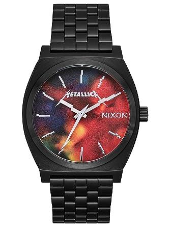 Nixon Mens Time Teller Metallica Collection Black/Hardwired One Size