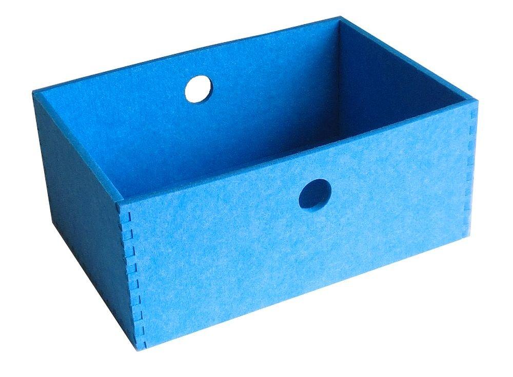 フェルメノン(Felmenon) フェルト雑貨 HOZO BOX M ブルー S-HBX-M-BL 【まとめ買い同色5個セット】 B01E0WPZ44 ブルー M