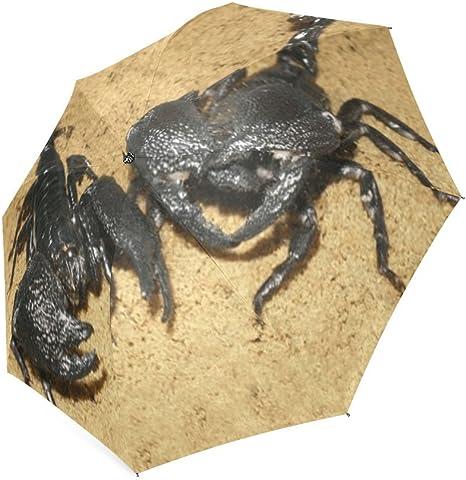 Custom Scorpion Compact Travel Windproof Rainproof Foldable Umbrella