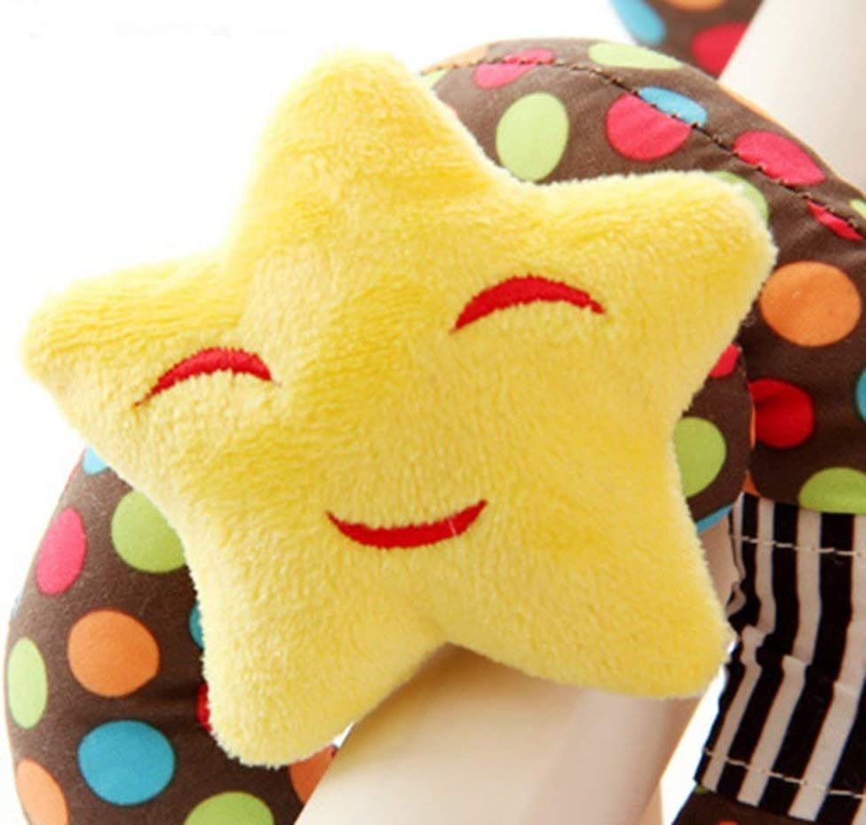 1 pieza colgante espiral juguetes resistente a los ara/ñazos espiral colgante juguete para beb/é cochecito cuna cuna cama de beb/é