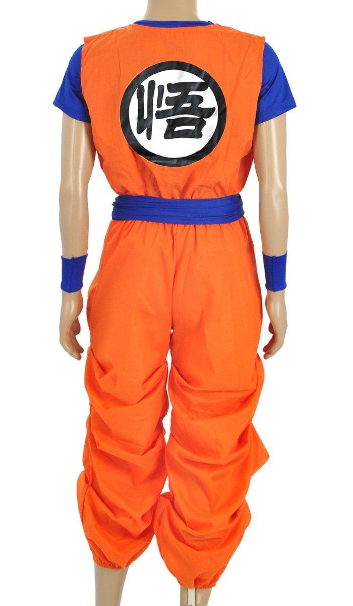 CoolChange Traje Cosplay de Son Goku, tamaño: S: Amazon.es: Juguetes y juegos