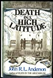 Front cover for the book Death in a High Latitude by J. R. L. Anderson
