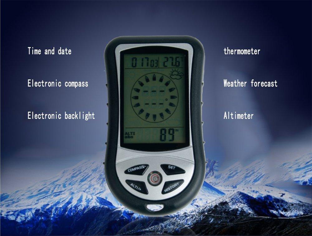 Ruix barometer multifunktions kompass barometer höhenmesser