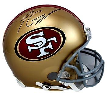 c46eca0b931 Signed Jimmy Garoppolo Helmet - Riddell Authentic - Autographed NFL Helmets