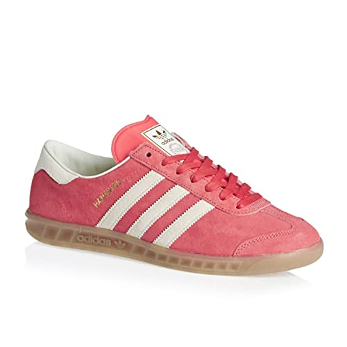 low priced 4d23a 71212 adidas Originals Hamburg Sneaker Pink S74834, Size42
