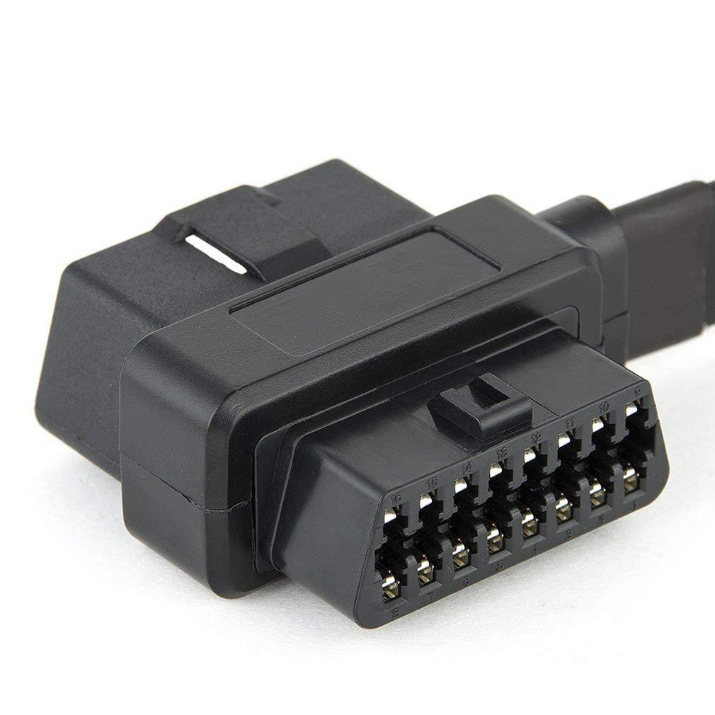 Cable de extensi/ón OBD OBD2 para Coche Ndier