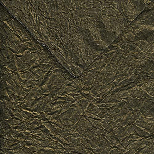 Black Ink Paper Soft Metallic Bronze Momi 19X27