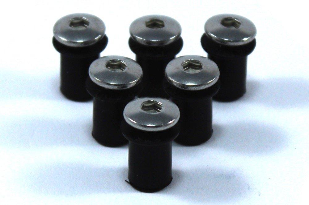 kit fissaggio bulloni carenatura GSXR GSX-R Suzuki gsx-r 600 K6-k7 2006-2007 in acciaio inossidabile