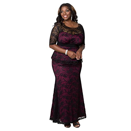 Peplum Dresses Plus Size Amazon
