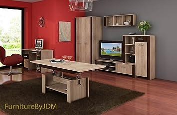 Mobel Eiche Sonoma ~ Sonoma eiche holz wohnwände online kaufen möbel suchmaschine