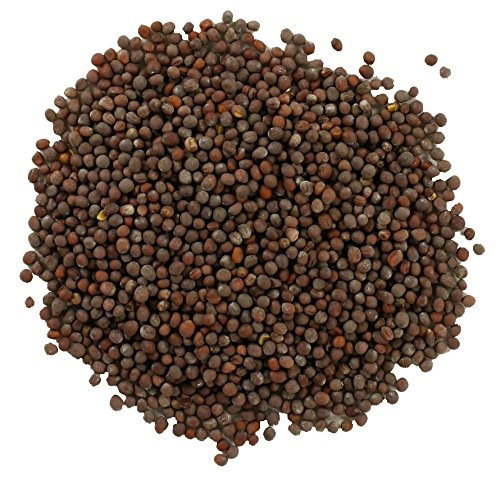 (Frontier Mustard Seed, Brown Mustard Whole Certified Organic, 16 Ounce Bags (Pack of 3) )