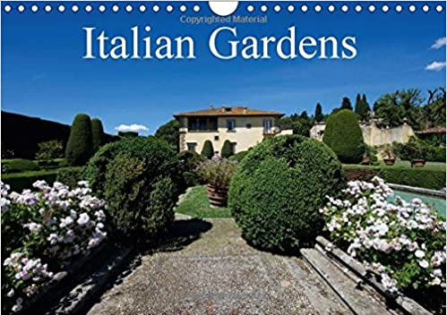Italian Gardens 2017: The Silent Beauty of the Views of Classic Italian Gardens (Calvendo Nature)
