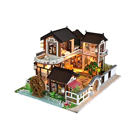 Model Building Diy 3d Building Dollhouse Creative Toys Lovely Princess Miniature Assemble Kits With Funitures For Child Festival Handmade Gifts Toys & Hobbies