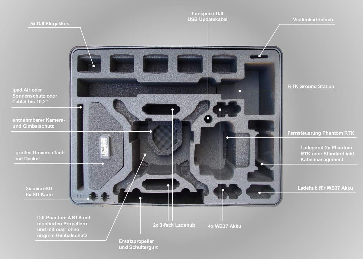 DJI Phantom 4 bateria ladehub
