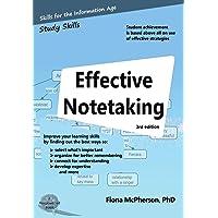 Effective Notetaking (Study Skills)