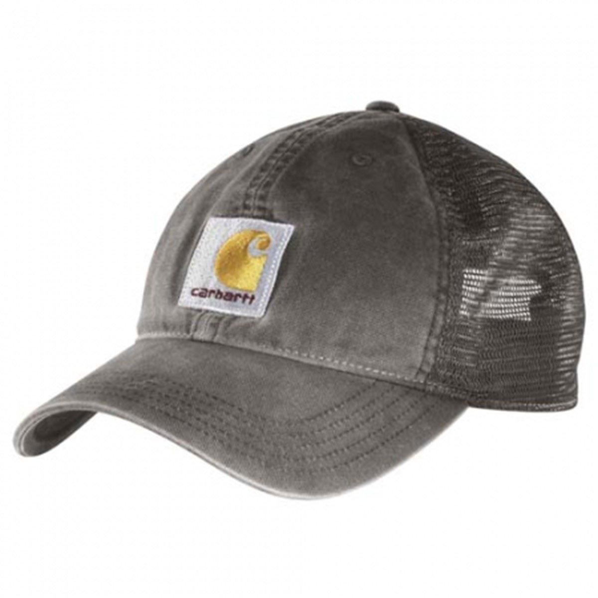 Carhartt Gorra Buffalo Gris CH100286GVL Sombrero Baseball Cap ...