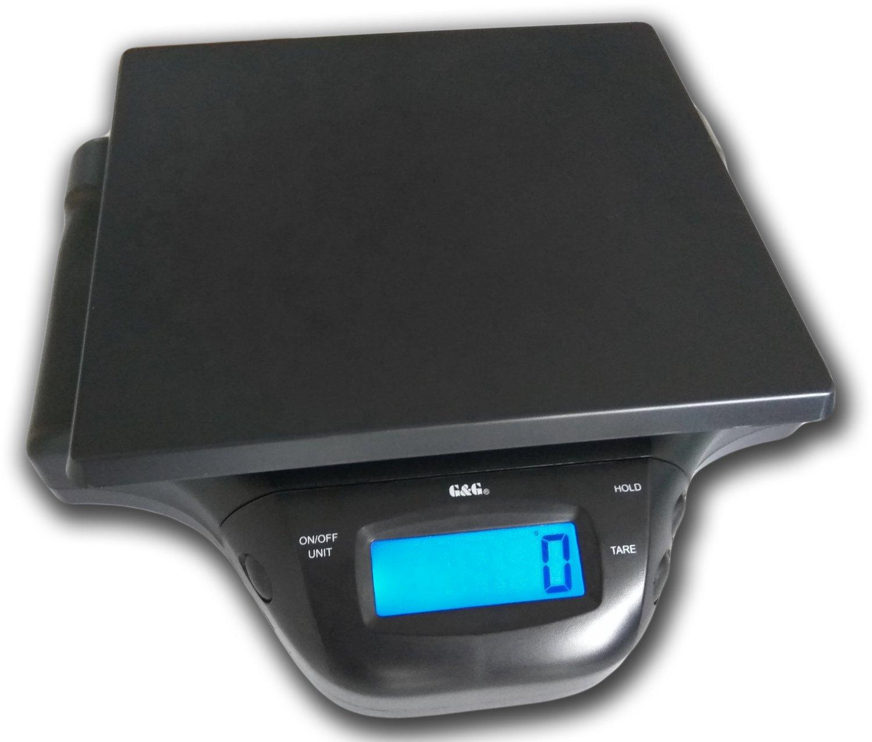G&G - Báscula digital de mesa para paquetes, sobres, ingredientes de cocina, 2 g - 25 kg: Amazon.es: Oficina y papelería