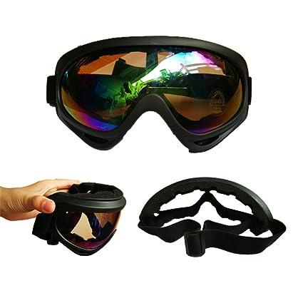 Amazon Com Laixiu Anti Ultraviolet Outdoor Sports Ski Glasses Can