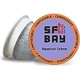 SF Bay Coffee Hazelnut Crème 80 Ct Flavored Medium Roast Compostable Coffee Pods, K Cup Compatible including Keurig 2.0…