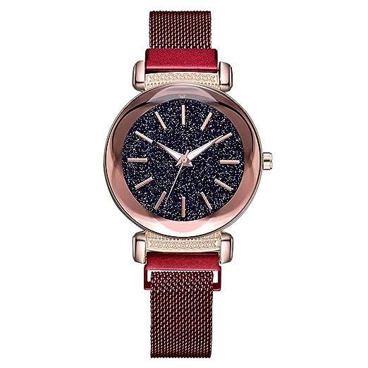 POJIETT Marcas Relojes Mujer Señora Oferta Reloj Pulsera de Cuarzo Reloj Deportivo Automatico Mujer Correa de Aleacion Reloj Quartz Wrist Watch for Women ...
