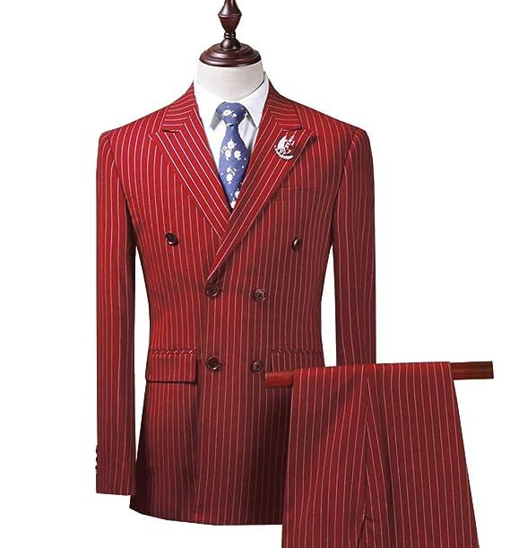 Amazon.com: Traje para hombre de 2 piezas, ajuste delgado ...