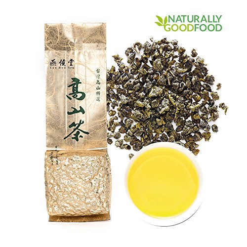 Yan Hou Tang - Organic Taiwan Jin Xuan Milk Oolong Tea Loose Leaf Green Food Flavor Taste Formosa High Mountain Wulong Grown Caffeine Medium for Detox Weight Loss US FDA SGS Verified