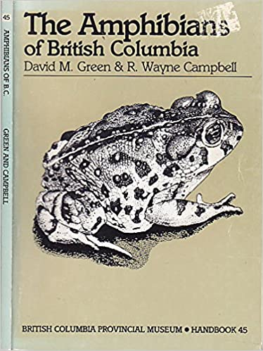 Amphibians of British Columbia