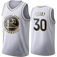 QKJD NBA Baloncesto Uniformes Camiseta de la Nueva Temporada NBA Warriors No. 30 Curry No. 11 Camiseta de Entrenamiento…