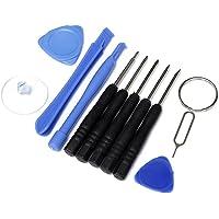 GARASANI 11 in 1 Premium Repair Opening Pry Tools Repair Kit Screwdriver Set For ipad/ipad mini/ipad air/iPhone SE/6s /6s Plus/6/6 Plus /5S /5/4S /4 / iPod Touch