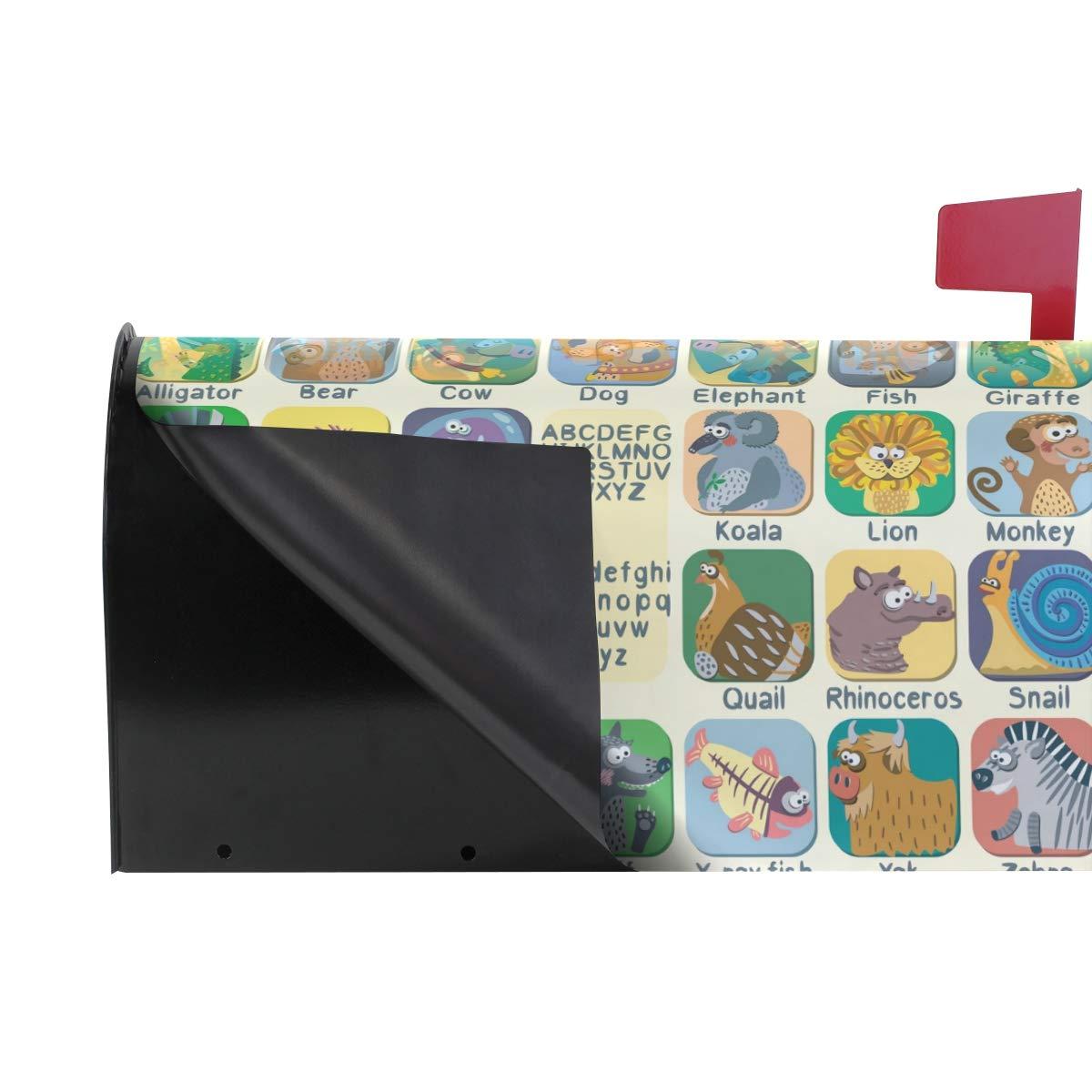 Amazon.com: ALAZA - Cubierta magnética para buzón de ...