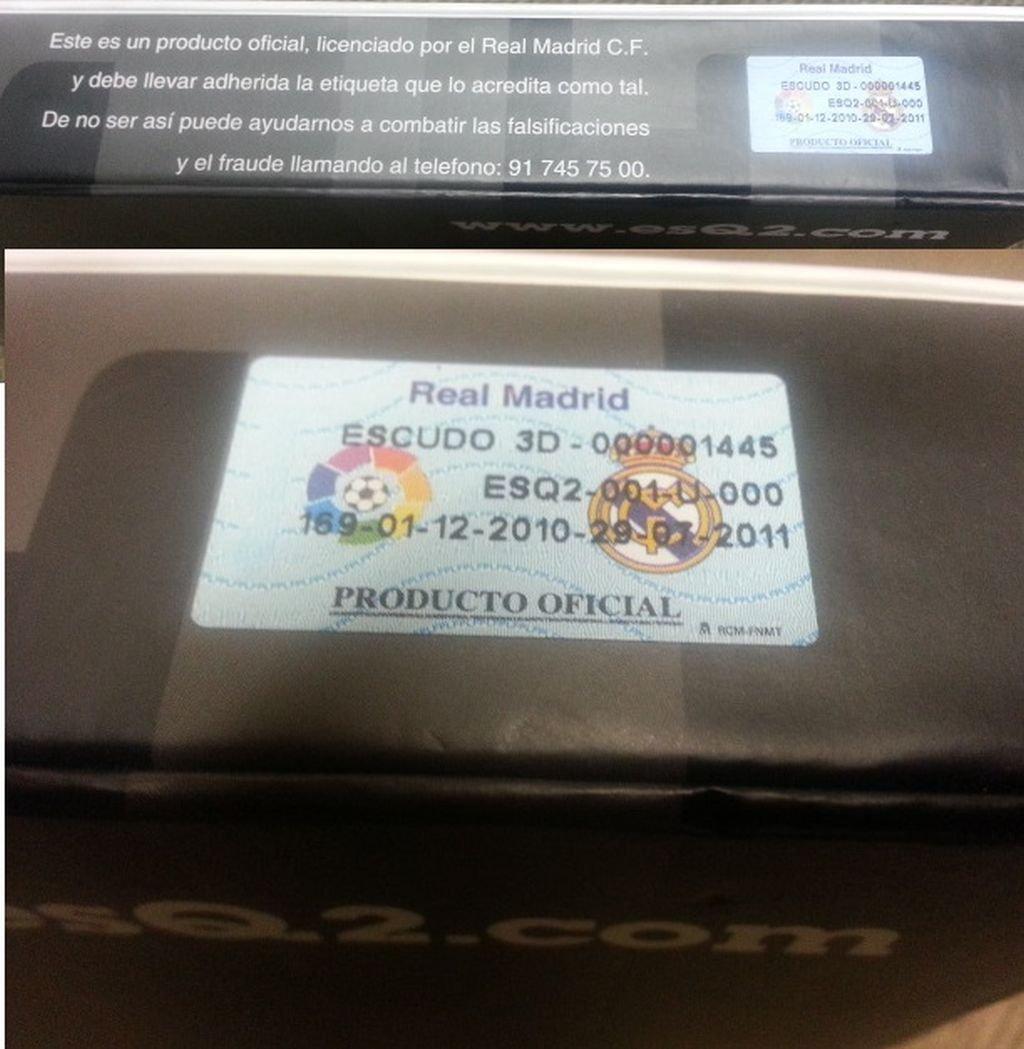 Amazon.com: Real Madrid CF Fútbol Crest escudo acrílico para ...