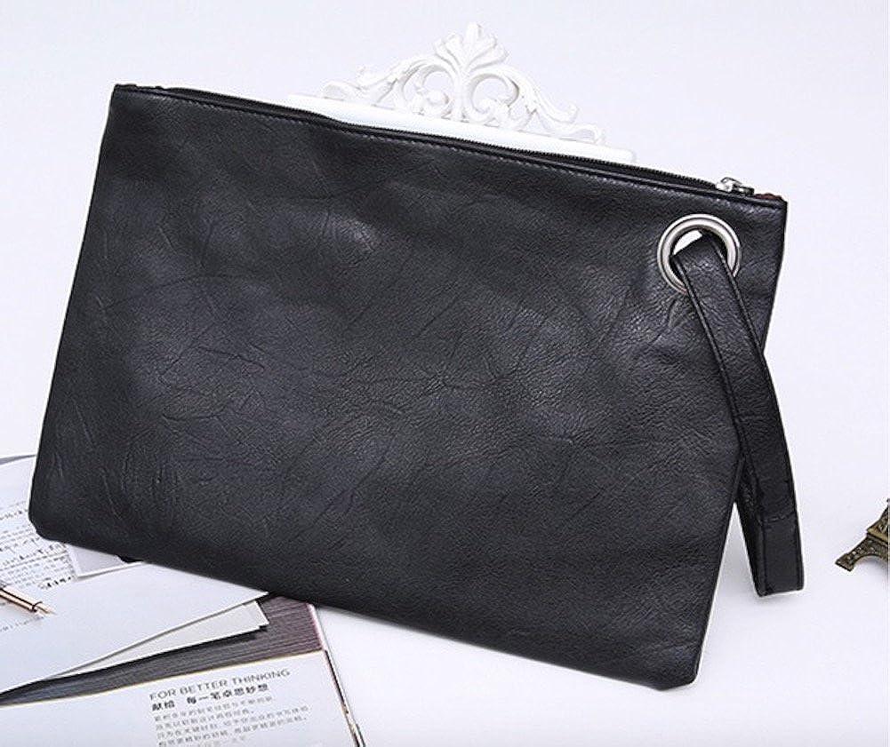 95c8e4b31a6 Evening and daily casual clutch bag (black): Handbags: Amazon.com
