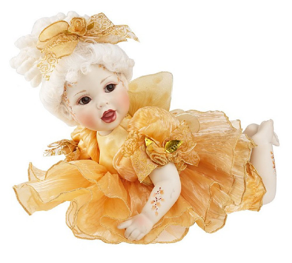 "Marie Osmond Faylinn Fairy Baby 12 "" Seated le800   B07BD52Y81"