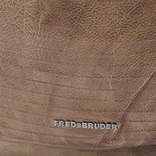 FredsBruder S.C. Buzzcut Borsa hobo taupe