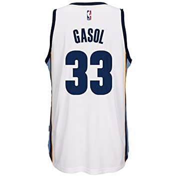 Amazon.com: Marc Gasol Memphis Grizzlies Adidas NBA Swingman ...