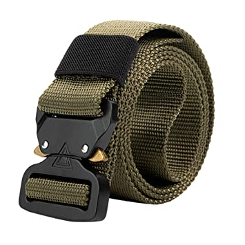 Training Strap Quick-Release Buckle US Outdoor Heavy Duty Military Tactical Belt