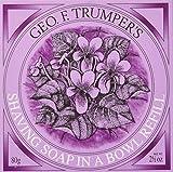 Geo F Trumper Shaving Soap (Violets, 80g) by Geo F. Trumper