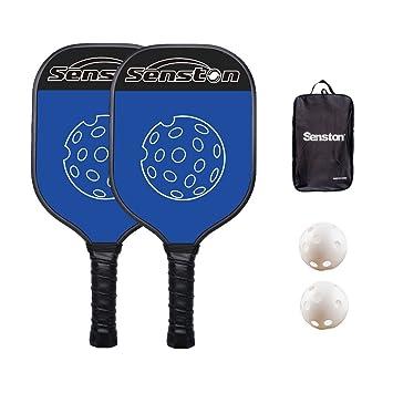 Senston Pala de pádel Unisex Adulto Pala de Tenis Raqueta Paddle ...