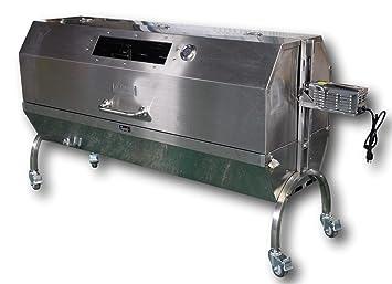 Carbón Asador Horno, barbacoa asador para todo cerdo, cordero, cabra – Modelo ssh1