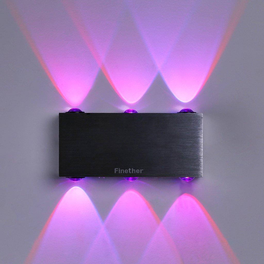 LED Wandleuchte Wandlampe Effektlampe Wohnzimmer Schlafzimmer Flurleuchte Lampen
