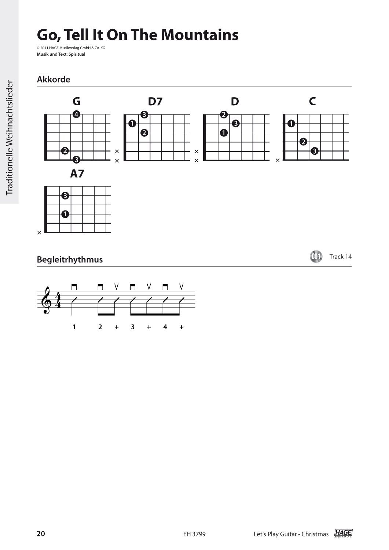 Let\'s Play Guitar Christmas: Weihnachtslieder für Gitarre. Christmas ...