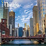 Chicago 2018 12 x 12 Inch Monthly Square Wall Calendar, USA United States of America Illinois Midwest City